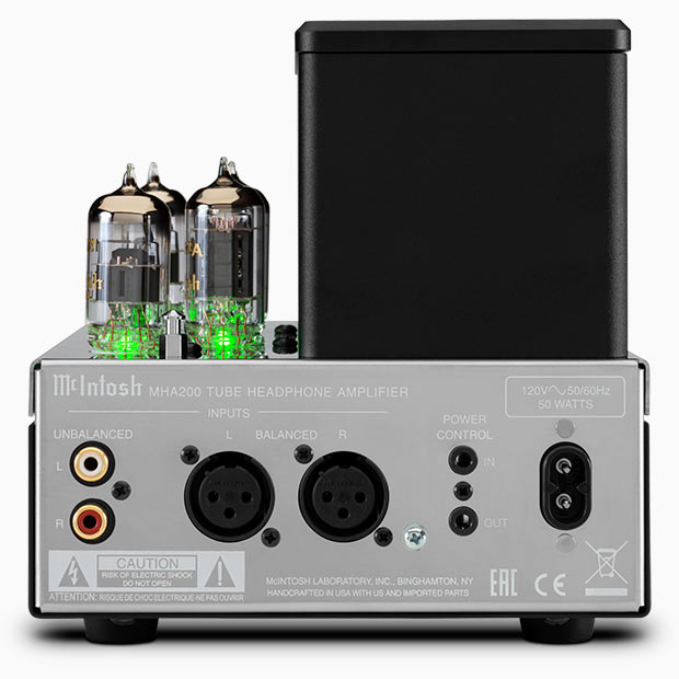 McIntosh MHA200 Vacuum Tube Headphone Amplifier