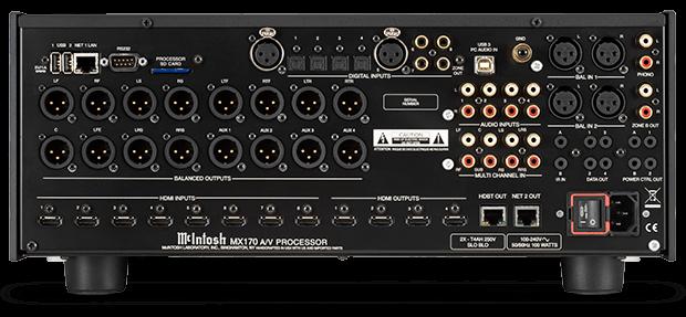 Procesor A / V McIntosh MX170